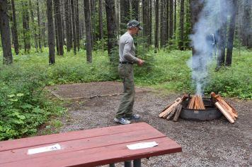 Campfire at Apgar