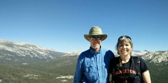 Jim and Lynn on Lembert Dome