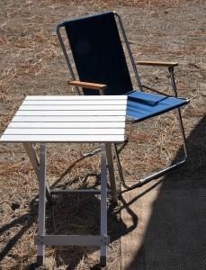 Chair Table Rug