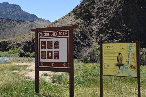 Colton Creek Access
