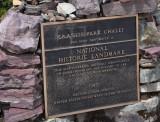 Granite Park Chalet historic marker