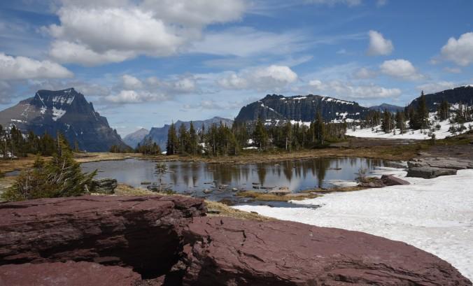 Hidden Lake trail 2