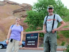 Jim and Jeannie Red Rocks