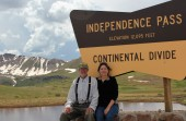 Jim and Lynn Independence Pass