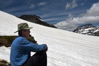Jim at Hidden Lake Trail 2