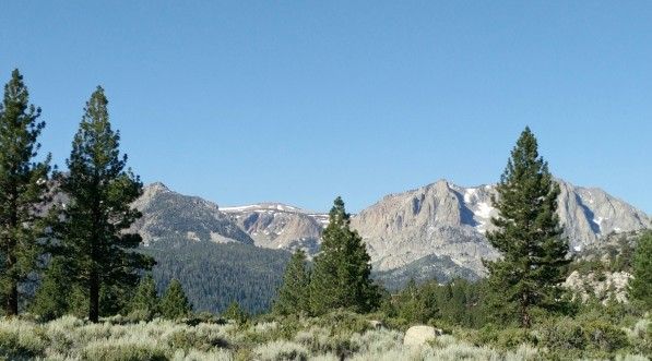 June Lake Mountains