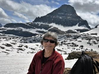 Lynn at Hidden Lake trail