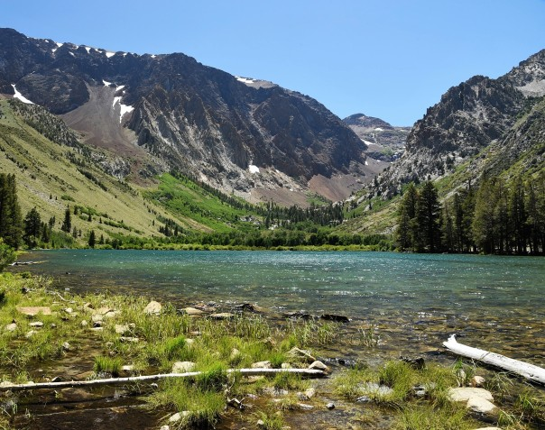 Parker Lake shore