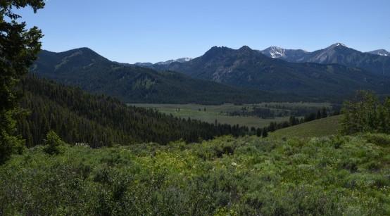 Sawtooth Range near Stanley 2