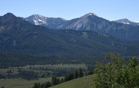 Sawtooth Range near Stanley