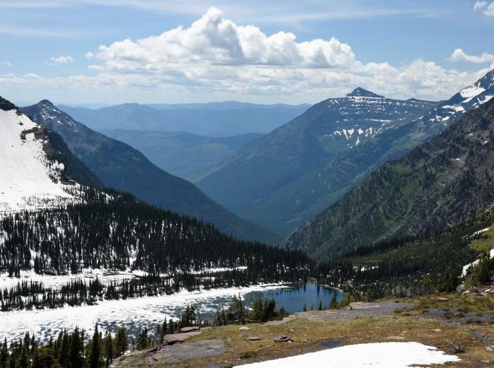 View of Hidden Lake