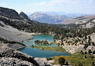 Barney Lake on the Duck Pass Trail