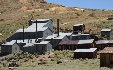 Bodie 14 Stamp Mill