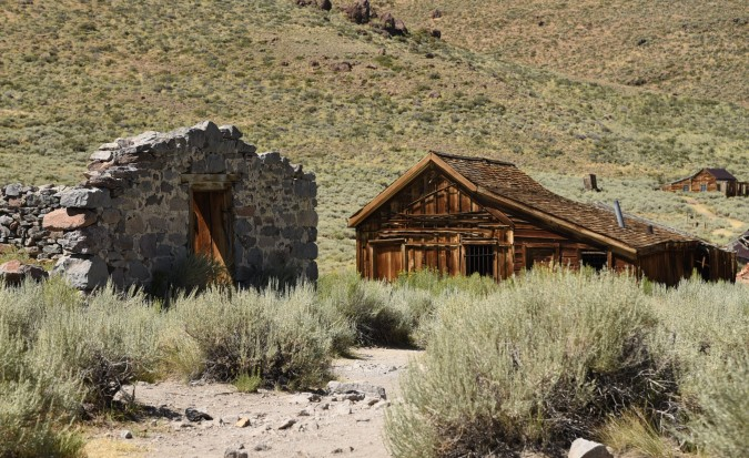 Bodie 21 Stone Warehouse and Jail