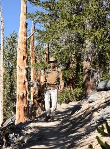 Jim along the trail!