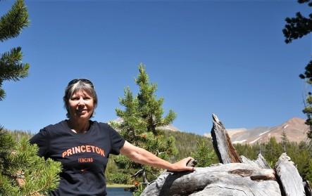 Lynn at Dog Lake