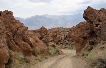Red Rock Canyon in Owen's Valley