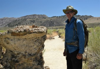 Jim on South Tufa Trail
