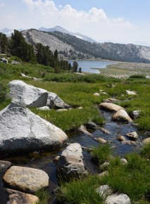 Looking back towards Middle Gaylor Lake