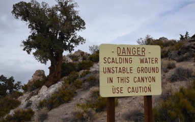 Warning signs abound to keep people safe