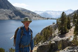 Jim above Duck Lake