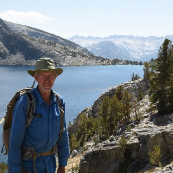 Jim above Duck Lake