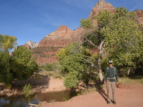 start-of-watchman-trail-zion