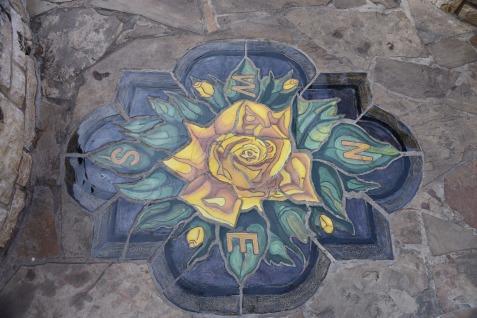 Compass Rose Mosaic