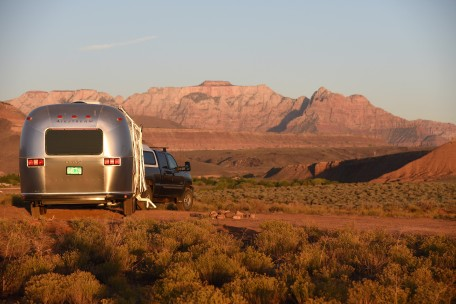 Boondocking near Zion NP