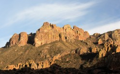 Driving the Chisos Basin Road