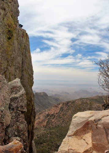 Emory Peak summit 2014