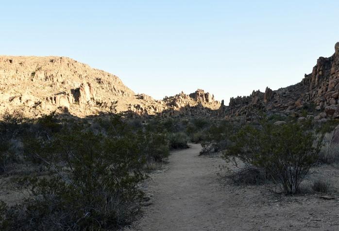 Grapevine Hills 3 path