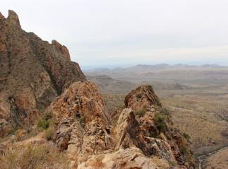 Oak Spring Trail summit 2014