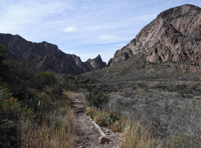 Window trail descent