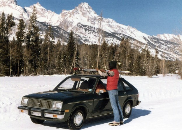Lynn and Chevy Chevette Tetons 1981