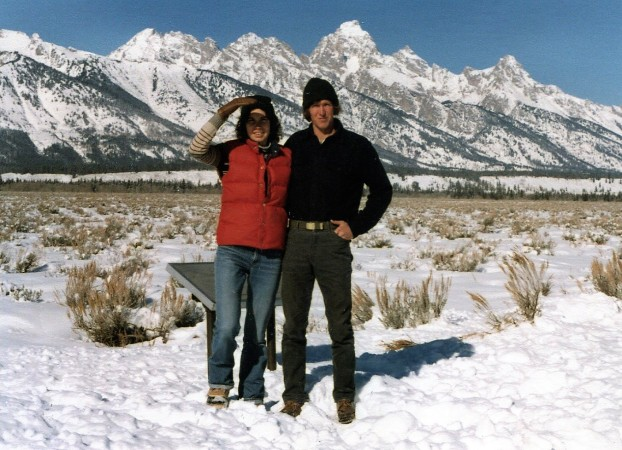 Lynn and Jim Tetons 1981