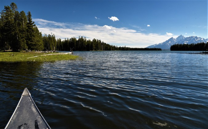 Jackson Lake near Colter Bay