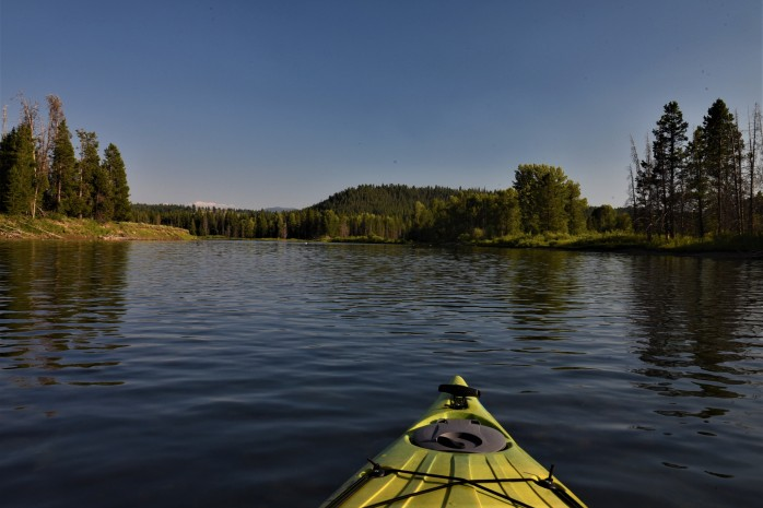 Snake River paddle at Oxbow