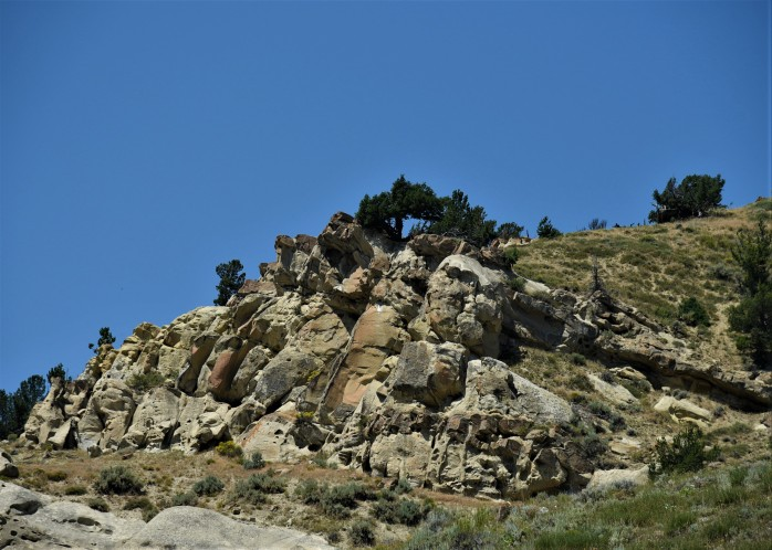 Uhl Hill rock outcropping