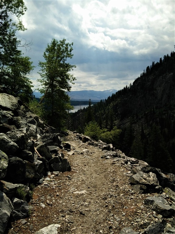 View along Death Canyon trail