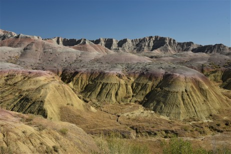 Yellow mounds area of the Badlands