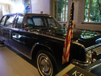 I was floored to discover among Ford's presidential motorcade vehicles the very car where JFK was assassinated. Very moving...