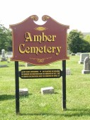And the cemetery is named after the town, of course!