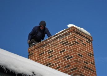 jim on roof chimney maintenance (2)