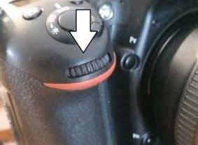 Nikon Sub-command Dial
