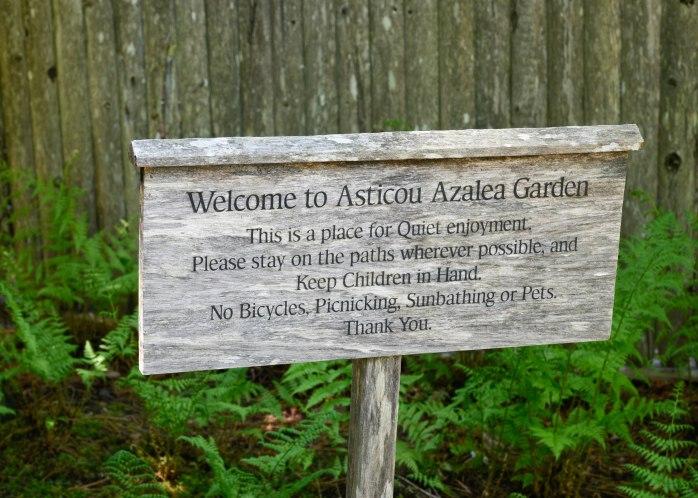 Asticou Garden sign (1 of 1)