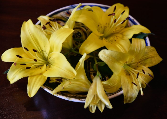Thuya Lodge flower arrangement (1 of 1)