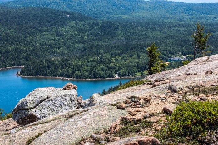 Penobscot Descent view of Jordan Pond House (1 of 1)