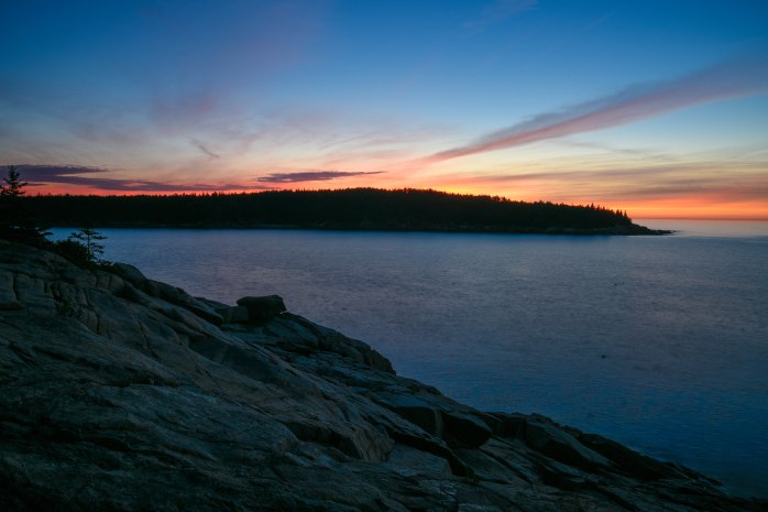 First Light over Otter Point (1 of 1)