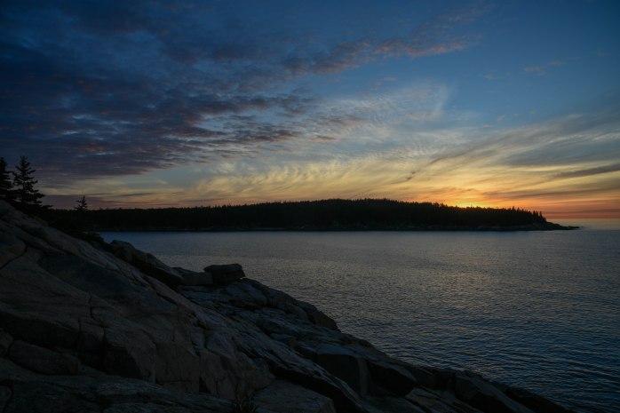 Sunrise over Otter Point 1 (1 of 1)